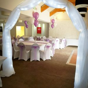 Sparkle Archway & Drapes
