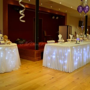 Sparkle Back Drop & Skirts Package