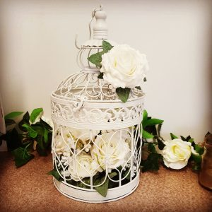 Vintage Bird Cage Centre Piece