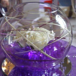 LED Fish Bowl Centre Piece