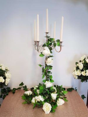 Candelabra Centre Pieces Devon