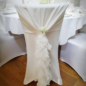 Fresh Flower Chair Embellishments