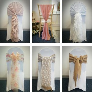 Chair Cover with Deluxe Sash