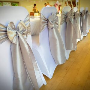 Luxury Taffeta Sashes