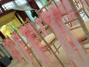 Chair Sash Hire Devon