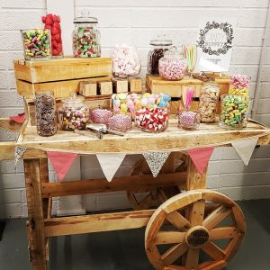 Rustic Wooden Cart