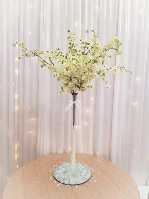 Devon wedding centrepieces