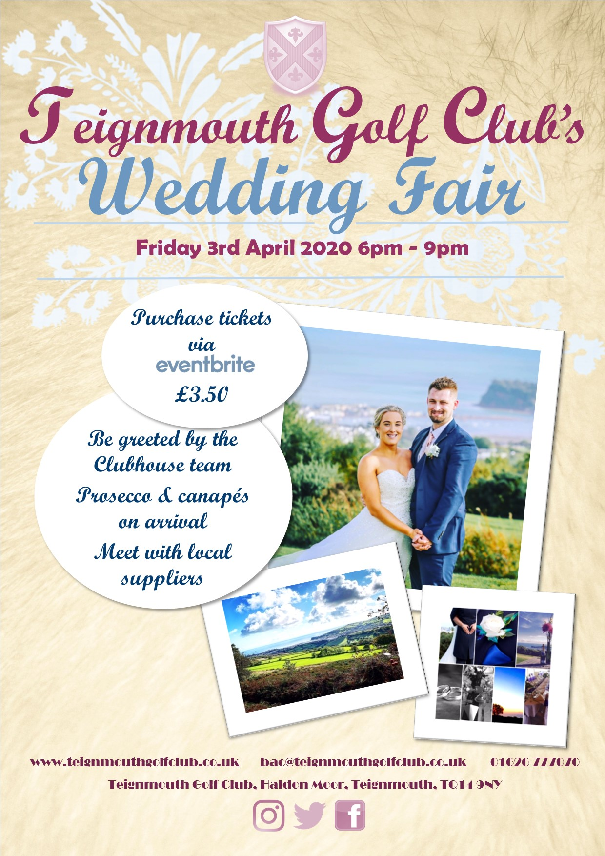 Teignmouth Golf Club Wedding Fair